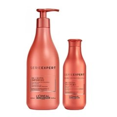 Kit Loreal Professionnel Inforcer Shampoo 500ml + Condicionador 200ml