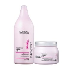 Kit Loreal Professionnel Vitamino Color A-OX Shampoo 1500ml + Máscara 500g