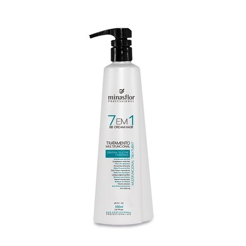 Minas Flor 7 em 1 BB Cream Hair Multifuncional 500ml