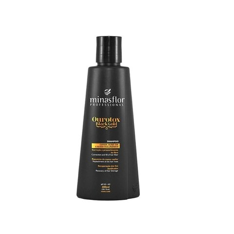 Minas Flor Shampoo Ourotox Black Gold 300ml