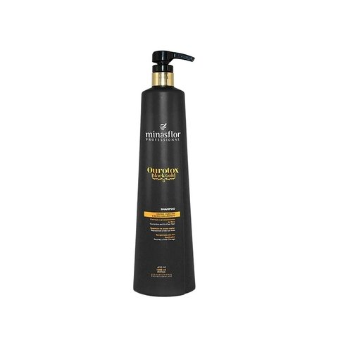 Minas Flor Shampoo Ourotox Black Gold 1000ml