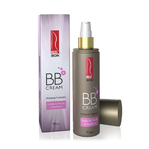 Red Iron BB Cream+ Hidratante Finalizador 90ml