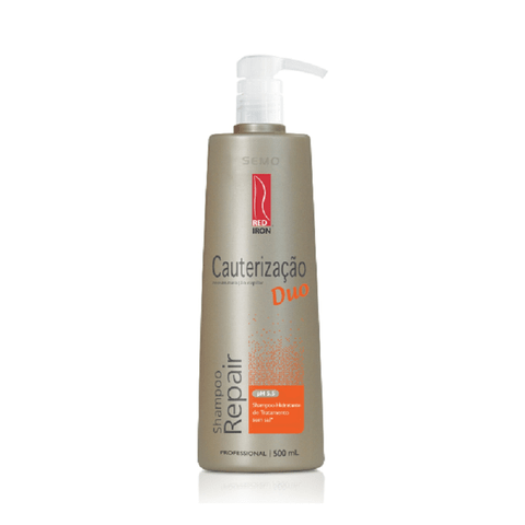 Red Iron Cauterização Duo Shampoo Repair 500ml