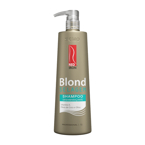 Red Iron Blond Selagem Shampoo Desembaraçante 1000ml