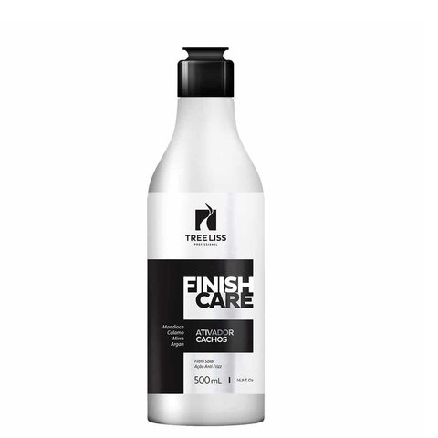 Tree Liss Finish Care Ativador de Cachos 500ml - R