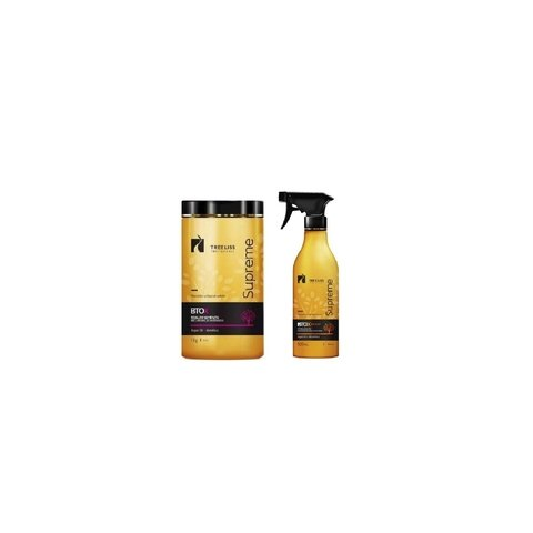 Tree Liss Kit Btox Supreme Mandioca 1kg +Botox Tratamento Btox Spray Supreme 500ml - R