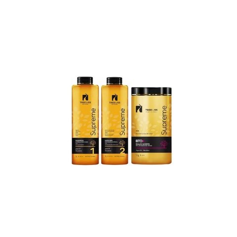 Tree Liss Supreme Kit Progressiva+Btox Mandioca - R