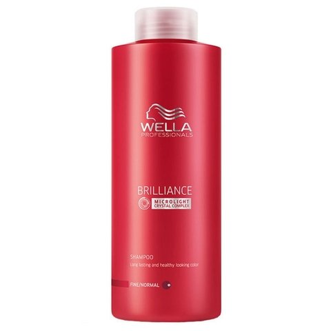 Wella Professionals Brilliance Shampoo 1000ml
