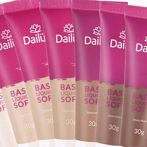 Base Líquida Soft Dailus, 30g