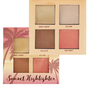 Ruby Rose - 7504/L Paleta Sunset Highlighter - Iluminador e blush com 4 cores