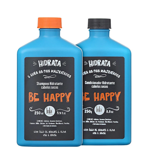 Lola Cosmetics - Be happy Kit Shampoo + Condicionador - comprar online