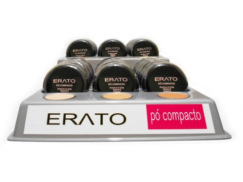 Display - Pó Compacto Erato - 6 cores