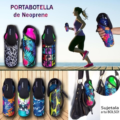 PORTABOTELLAS DE NEOPRENE
