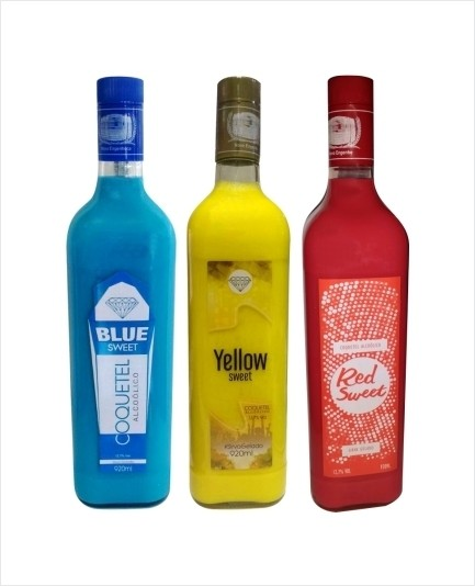 Combo com 1 Blue Sweet + 1 Yellow Sweet + 1 Red Sweet - comprar online