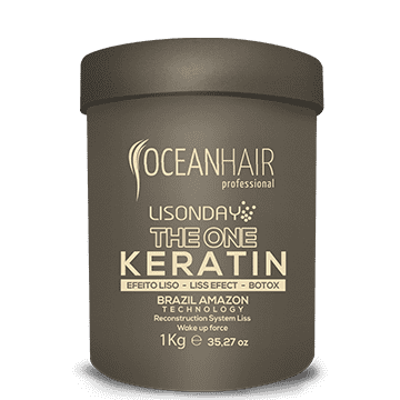 Botox the one keratin lisonday pote Ocean Hair 1kg - comprar online