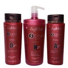 Kit tratamento agi max dna escova inteligente soller