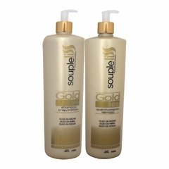 Kit Souple Liss Gold liss Escova Progressiva 2 Passos 1L