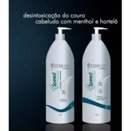 Kit Speed Treatment Ocean Hair 1L Anti caspa E Seborreia - comprar online