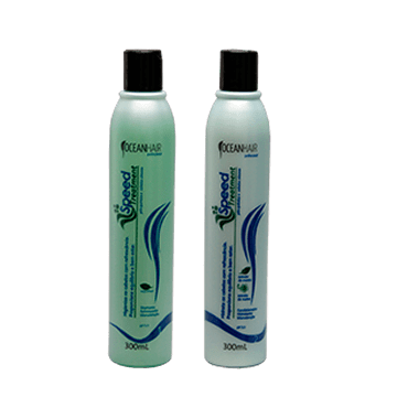 Kit Speed Treatment Ocean Hair 300 Ml contra caspa e seborreia
