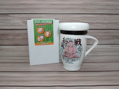 Taza SAMURAI - Tu Tetera Personal - (Tea for One)