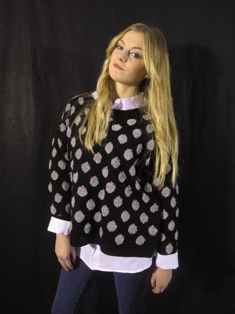 Sweater Lunares Art. 3008.1