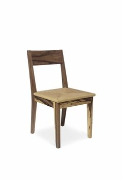 Wood Collection Silla Tejida