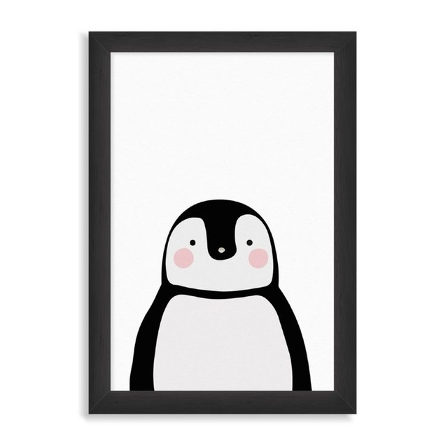 Pinguino in black en internet