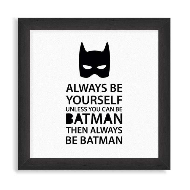 Always be Batman en internet