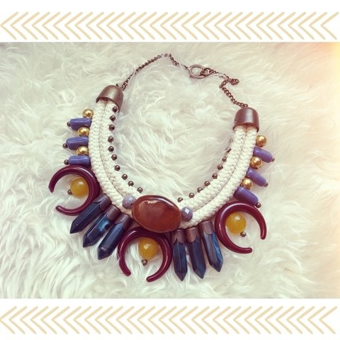 Collar lunas Red
