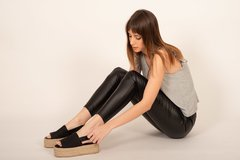 COCO /BLACK - Rebeca Shoes