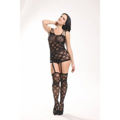 Bodystocking Vestido Rendado – 3629 na internet