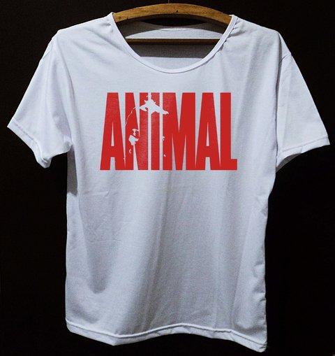 Camiseta Animal Vermelha