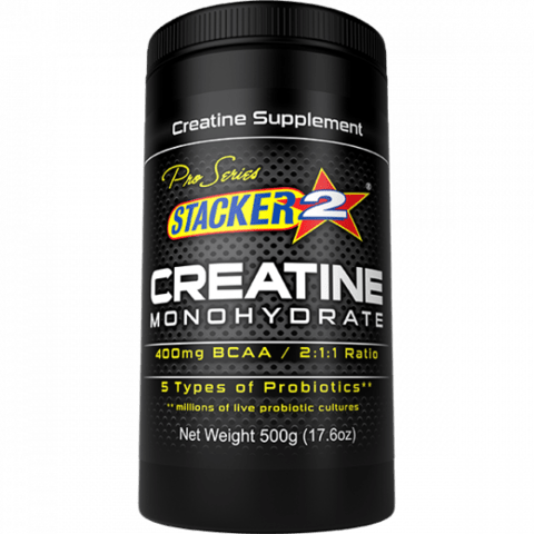Creatine Monohydrate - Stacker 2 - 500g