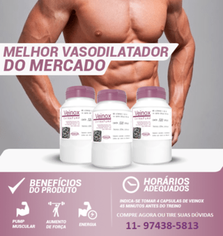 Veinox - 120 Capsulas - Power Supplements - comprar online