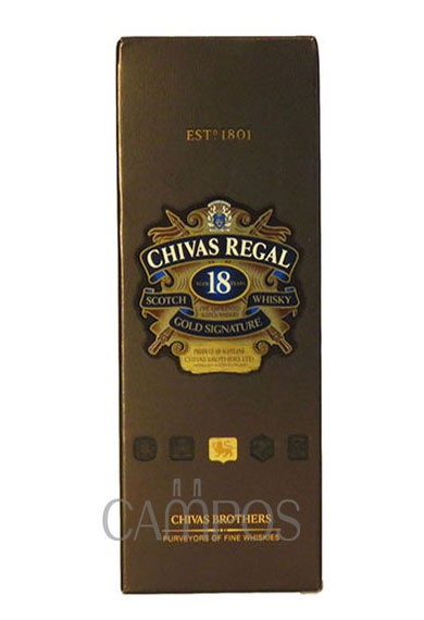 Whisky Chivas Regal 18 anos Estuche 750 cc