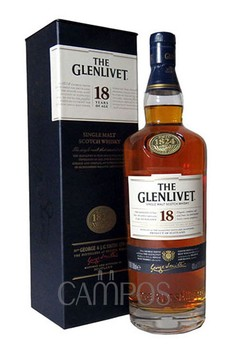 Whisky The Glenlivet 18 anos Estuche 1 Lt