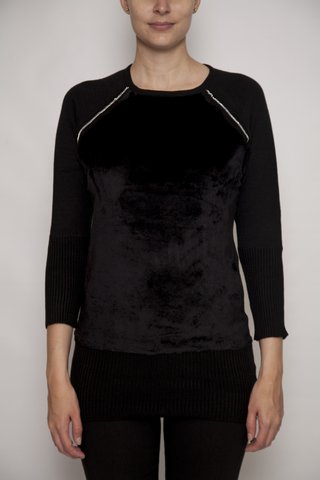 SWEATER DELANTERA ECO/CADENA (26232)
