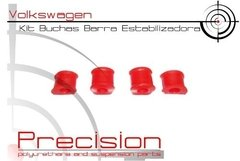 Passat 74 A 89 - Kit Buchas Dianteiro Completo - Poliuretano - Precision Suspension Parts