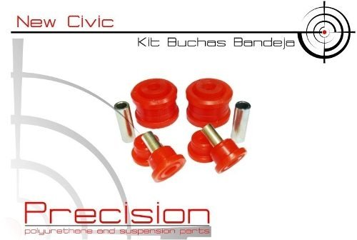 New Civic - Kit Buchas Bandeja Em Poliuretano