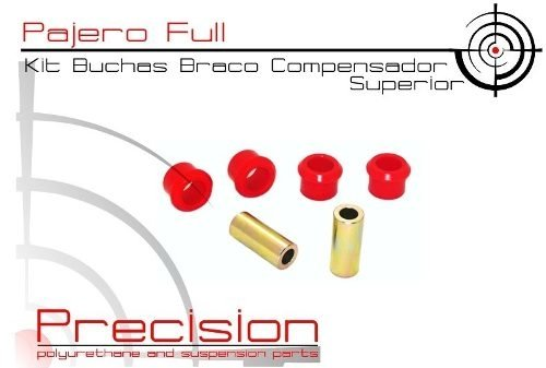 Pajero Full - Kit Buchas Traseiro Em Poliuretano - Precision Suspension Parts