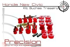 New Civic - Kit Buchas Traseiro Em Poliuretano - Precision Suspension Parts