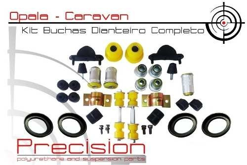 Opala 69 A 79 - Kit Buchas Em Poliuretano - 76pçs - Am. - Precision Suspension Parts