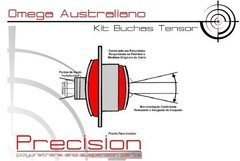 Omega Australiano 01/. - Kit Buchas Dianteiro Em Poliuretano - Precision Suspension Parts