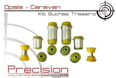 Opala 69 A 79 - Kit Buchas Traseiro - Pu - 20pçs - Am. - Precision Suspension Parts