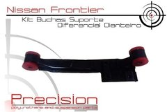 Nissan Frontier - Kit Buchas Suporte Diferencial Em Pu