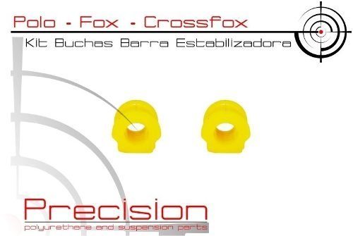 Spacefox - Kit Buchas Barra Estabilizadora Em Softthane®