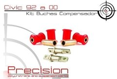 Civic 92 A 95 - Kit Buchas Traseiro Em Poliuretano - Precision Suspension Parts