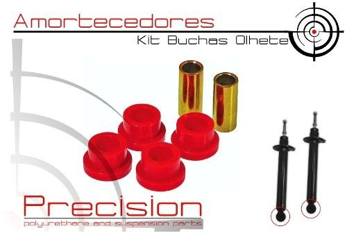 Mitsubishi Tr4 - Io - Kit Buchas Traseiro Completo Em Pu - Precision Suspension Parts