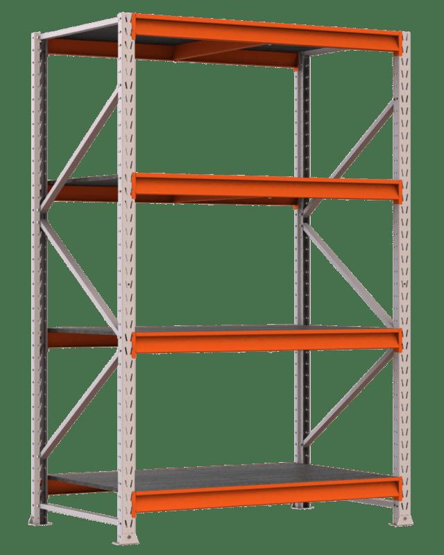 Mini porta pallets inicial 300x180x80 cm c 4 niveis - Piso porta 2000 ...