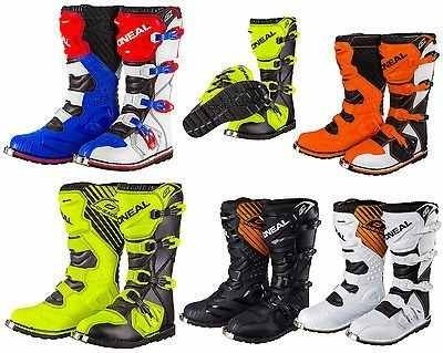Botas Motocross Oneal Rider Profesionales